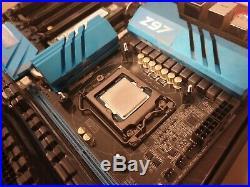 Intel i7-4790k CPU, Asrock z97 Extreme9 motherboard, 16GB DDR3 C9 2x8GB bundle