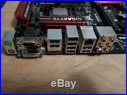 Intel i7-4790k + Gigabyte Z97X Gaming 5, + Hyper X DDR3 32G 4 x 8GB 1866Mhz Ram