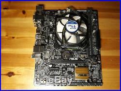 Intel i7-6700 (4x3,4Ghz) mit Mainboard ASUS H110M Plus und Lüfter