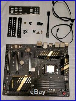 Intel i7 6700k Cpu & Gigabyte UD5 TH Motherboard