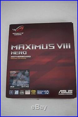 Intel i7 6700k with ASUS Maximus Viii Hero Motherboard Bundle