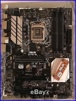 Intel i7 7700K CPU, GTX1060 GPU, Corsair RAM and ASUS Motherboard combo