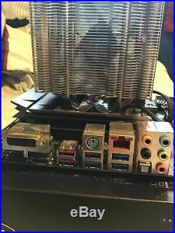 Intel i7-7700k CPU and Asus STRIX Z270H Motherboard & 16gb RAM plus Cooler COMBO