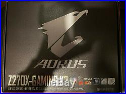 Intel i7-7700k CPU with Gigabyte Z270X Aorus Gaming K7 MB and Cooler Master Hyper