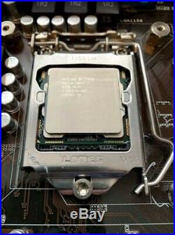 Intel i7-870 CPU ASUS P7P55D-E LX MoBo with 16GB Samsung RAM combo and Fan