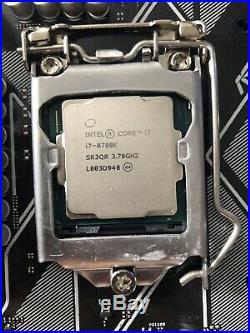 Intel i7 8700k Asus Z370 Prime Motherboard Combo
