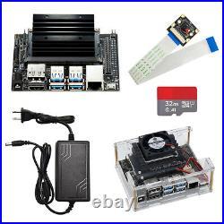 Jetson Nano Developer board +AI camera+clear case+ 32 GB SD card+ power adapter