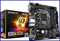 Kit Scheda Madre B365M + Cpu i3 9100 3.60GHZ + Ram 8Gb ddr4 Upgrade Intel