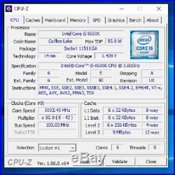 Lot Combo Intel i5 8600k cpu processor + MSI z370 Gaming Plus ATX Motherboard