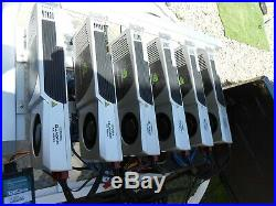 Lot of Mining Rig motherboard, video cards cables and case working sold as is