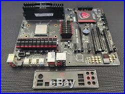 MSI 970 Gaming M/board, FX8150 8 core 3.6 GHz CPU, 8 GB Corsair Vengance DDR3