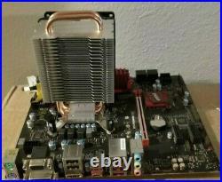 MSI B250M Gaming Pro Micro ATX + Core i5-7500 CPU + 8GB Corsair DDR4 + Heatsink