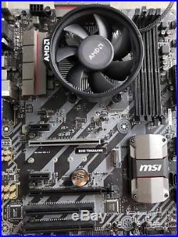 MSI B350 Tomahawk and AMD Ryzen CPU Combo