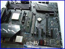 MSI B450 GAMING PRO CARBON AC AM4 Motherboard Combo with RYZEN 5 1400 3.2 3.4