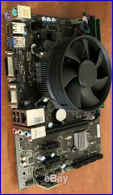 MSI H81M PRO-VD USB 3.0 LGA1150 Motherboard + i3 4370 @ 3.80GHz + 8GB RAM BUNDLE