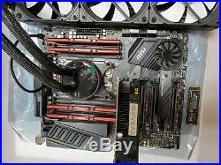 MSI TRX40 PRO 10G MB, AMD Thrradripper 3960x, 32G ram, Samsung 2TB NVMe EVGA GPU