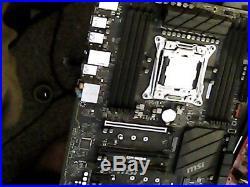 MSI X299 lGA 2066 comb with I7-7800x skylake6 core with Win 10 on 500Gb seagate