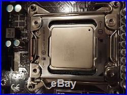 MSI X79MA-SD40 X79 Motherboard / E5-4620ES 2.4GHz 8C16T CPU / 8GB DDR3 RAM Combo
