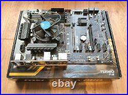 MSI Z270-A Pro Motherboard + Intel i5-7500 CPU 3.4 Ghz 6mb Cache Bundle