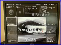MSI Z270 SLI Motherboard / CPU / 4GB Ram / 128 GB M. 2 SATA Combo