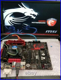 MSI Z87-G45 GAMING MOTHERBOARD, Intel Core I7 4790 2.7GHz CPU & 16GB RAM #MC5A