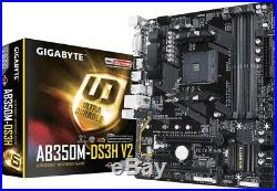 Mainboard CPU Prozessor Gaming Bundle AM4 Ryzen 1600 Aufrüst kit + Geschenk