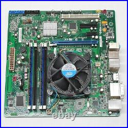 MicroATX Intel Motherboard + i5-2400 Quad Core CPU @ 3.1GHz + 8GB RAM Combo