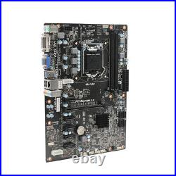 Mining Motherboard with CPU+4GB RAM+Fan Combo New H81 Super Alloy PRO BTC ETH