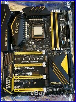 Motherboard Asrock Z170 OC Formula With Intel i7-6700k 4Ghz Boxed Bundle