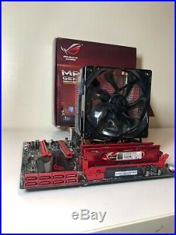 Motherboard Bundle Intel I7-4790 CPU, Asus Maximus VII GENE Z97, 16GB RAM DDR3