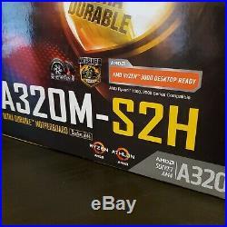Motherboard & CPU Bundle (GYGABYTE S320M S2H & AMD Ryzen 3 2200G)
