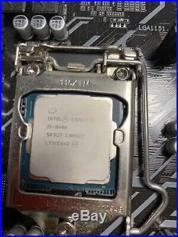 Motherboard CPU Ram Cooler Combo i5 8th Gen 16 gb DDR4