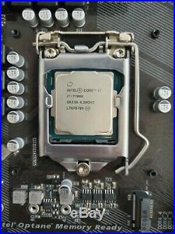 Motherboard and cpu combo, i7-7700k & GA-Z270XP-SLI
