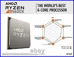 NEW 4.6GHz AMD Ryzen 5 5600X, 32GB, ASUS ROG Strix B550-F Gaming (Wi-Fi) Bundle
