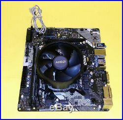 NEW AMD Ryzen 5 2600X 6-Core 3.6/4.25Ghz 8GB RAM Motherboard Gaming CPU Combo