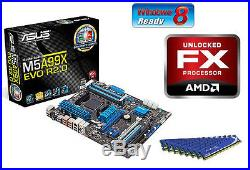 New AMD FX-8120 Eight Core X8 CPU MOTHERBOARD 8GB DDR3 MEMORY RAM COMBO KIT