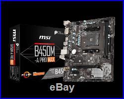 PC Bundle Kit Set AMD Ryzen 3600 RX 570 B450 Mainboard DDR4 16GB 2700