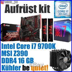 PC Bundle Kit Set Intel Core i7 9700K Z390 Mainboard DDR4 16GB 3000