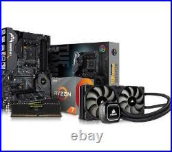 PC Specialist Bundle TUF X570 PLUS Ryzen 7 3700X 16GB (2x8GB) RAM & Watercooler