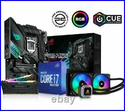 PC Specialist, i7-10700K CPU, 2x8GB RAM, ROG STRIX Z490-F & RGB Cooler Bundle