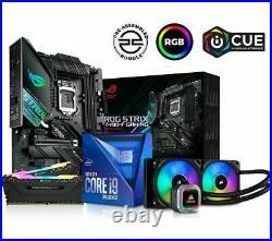PC Specialist, i9-10850K CPU, 2x8GB RAM, ROG STRIX Z490-F & RGB Cooler Bundle