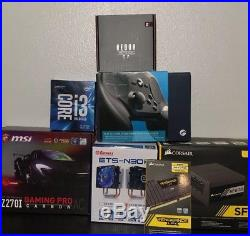 Quality PC components and parts Corsair, Intel, MSI Gaming Pro carbon