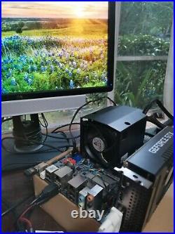 Rare! Intel i7-3930k X79 lga2011 Shuttle DTX (like Mini Itx) Motherboard 16gb