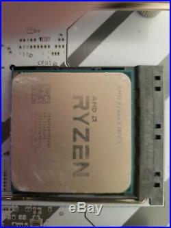 Ryzen 1600x With MSI B350 Tomahawk Arctic