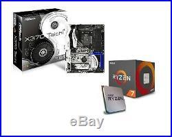 Ryzen 2700x CPU + ASRock x370 Taichi Motherboard Combo