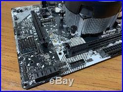 Ryzen 5 1500x Asrock B450M Combo