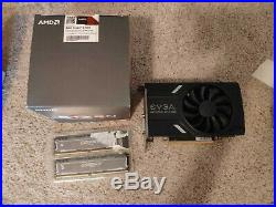 Ryzen 5 1600 combo with video card and ram