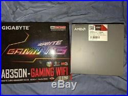 Ryzen 5 1600AF Zen+ 6-Core Processor Gigabyte GA-AB350N-Gaming WIFI itx Combo