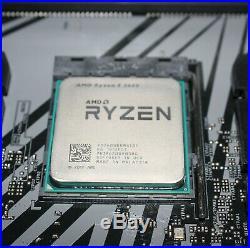 Ryzen 5 2600 + Asrock B450M with WiFi + 8GB Ram CPU Motherboard RAM COMBO