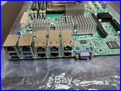 Supermicro X10SLH-LN6TF & 3Ghz CPU & 16G ECC RAM 6x 10G 3x X540-T2 COMBO 6x10GBe